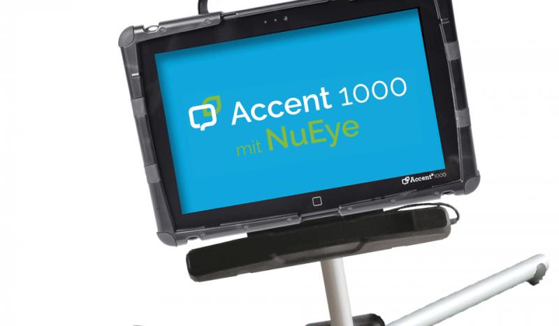 Kommunikationshilfe Accent 1000-30 mit Augensteuerung