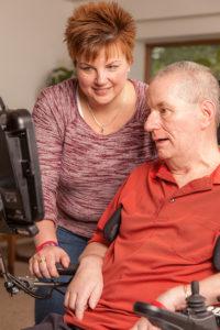 Augensteuerung für Menschen mit ALS