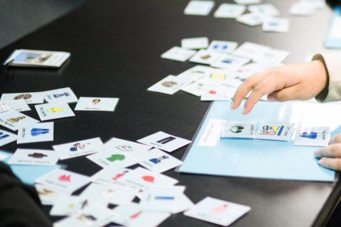 Fotr zeigt Boardmaker 7 Symbolkarten
